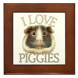 Guinea pigs Framed Tiles