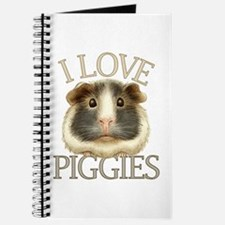 I Love Piggies Journal