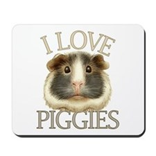I Love Piggies Mousepad