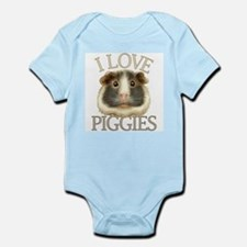 I Love Piggies Infant Bodysuit
