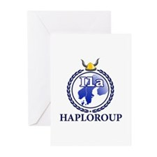 Funny Haplogroups Greeting Cards (Pk of 10)