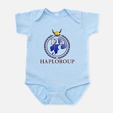 Funny Haplogroups Infant Bodysuit