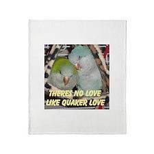 Parrot Quaker Galah Throw Blanket