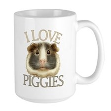 I Love Piggies Coffee Mug