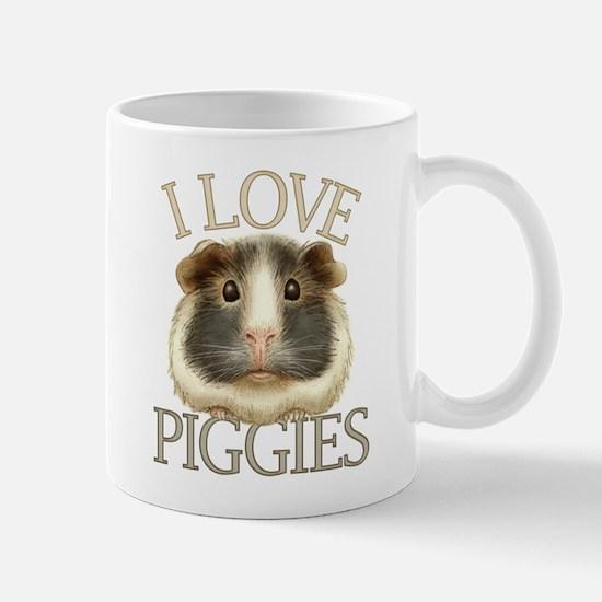 I Love Piggies Mug