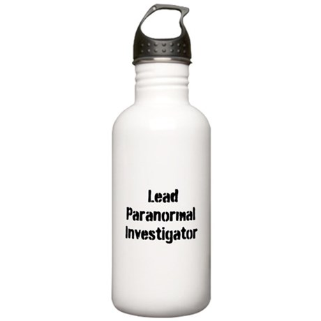 Lead Paranormal Investigator Stainless Water Bottl