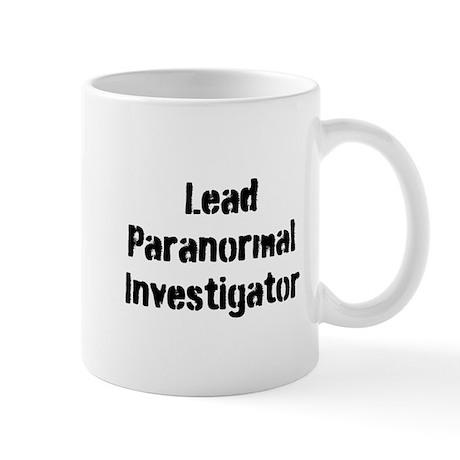 Lead Paranormal Investigator Mug