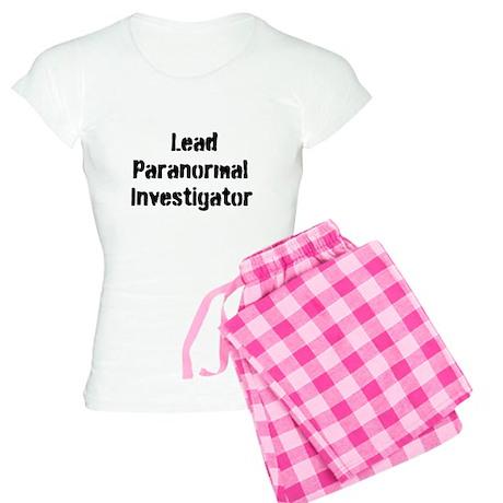 Lead Paranormal Investigator Women's Light Pajamas