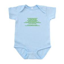 PSAAdvertisement Infant Bodysuit
