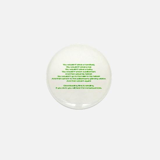 PSAAdvertisement Mini Button