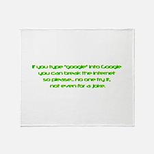 Unique Google Throw Blanket