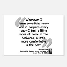 Moyers Learn Quote Postcards (Package of 8)