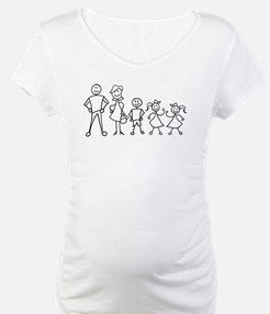 Stick Figure Family Shirt