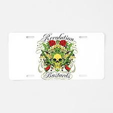 Revolution Bastards Aluminum License Plate
