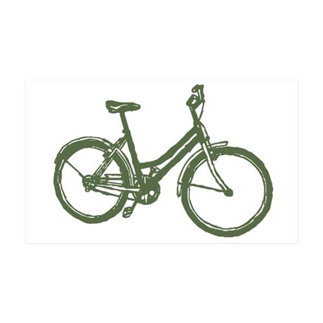 Bicycle 38.5 x 24.5 Wall Peel