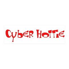 Cyber Hottie 21x7 Wall Peel