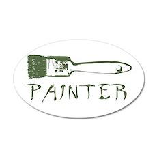 Painter 22x14 Oval Wall Peel