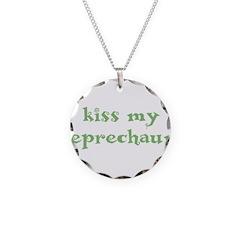 Kiss My Leprechaun Necklace