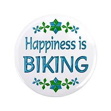 "Happiness Biking 3.5"" Button"