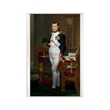 Napoleon in His Study Rectangle Magnet (100 pack)