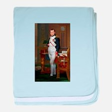 Napoleon in His Study baby blanket