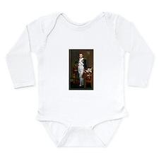 Napoleon in His Study Long Sleeve Infant Bodysuit