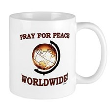 Pray For Peace Worldwide Mug