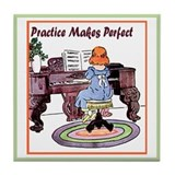 Piano practice Drink Coasters