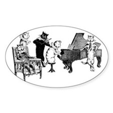 Cat Music Decal