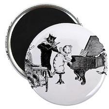 """Cat Music 2.25"""" Magnet (10 pack)"""