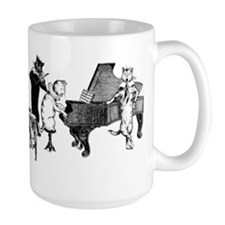 Cat Music Mug