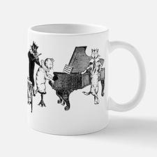 Cat Music Small Mugs