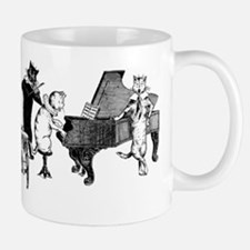 Cat Music Small Small Mug