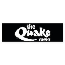 Cute Quake Bumper Sticker