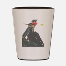 Piliated Woodpecker Shot Glass