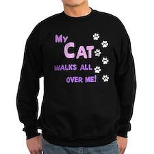 My Cat Walks All Over Me Shir Jumper Sweater
