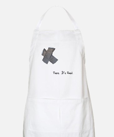 Duct Tape Fixes Everything Apron