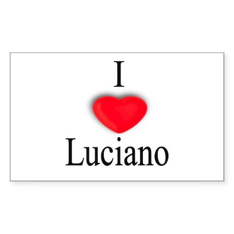 Luciano Rectangle Sticker