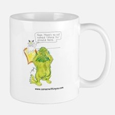 6 Questioner Stevie the Cat Mug