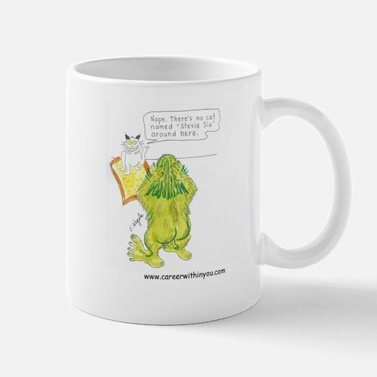 6 Questioner Stevie the Cat Mug