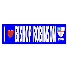 I Love Bishop Robinson ECUSA Bumper Bumper Sticker