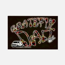Grateful Dad - Rectangle Magnet