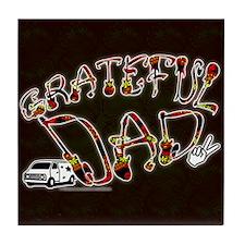 Grateful Dad - Tile Coaster