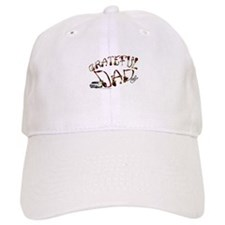Grateful Dad - Baseball Baseball Cap