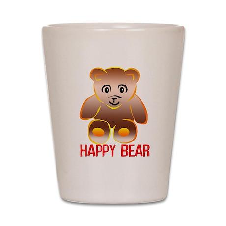 Happy Bear Shot Glass