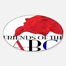 Friends of the ABC Sticker (Oval)
