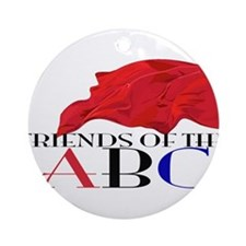 Friends of the ABC Ornament (Round)