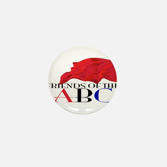 Friends of the ABC Mini Button (10 pack)