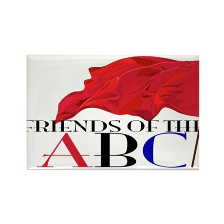 Friends of the ABC Rectangle Magnet (10 pack)