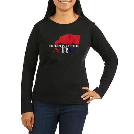 Friends of the ABC Women's Long Sleeve Dark T-Shir